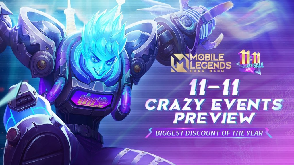 11/11 Crazy Events Preview | Event Trailer | Mobile Legends: Bang Bang!