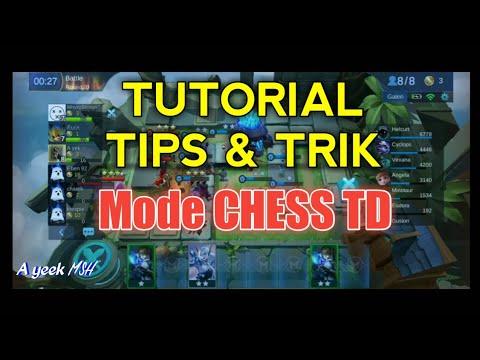 TUTORIAL TIPS & TRIK - Mode CHESS TD MOBILE LEGENDS