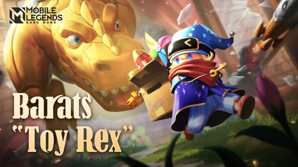 Barats New Skin | Toy Rex | Mobile Legends: Bang Bang