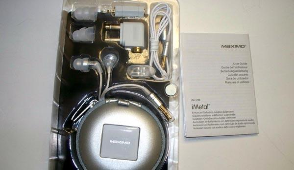 imetal-im590-3 REVIEW - Maximo iM-590 iMetal Isolation Earphones