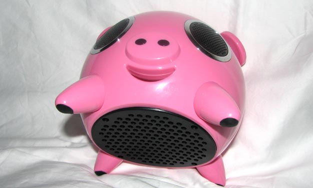 ipig-5 REVIEW - Speakal iPig iPod Speaker Dock