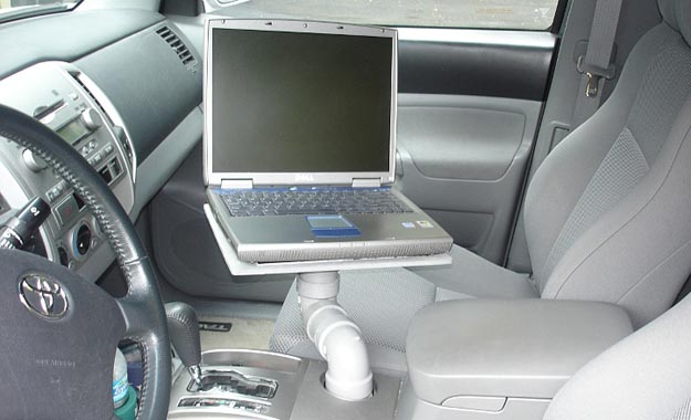 laptoptray  DIY: Build a Laptop Tray for the Car with PVC, Plywood