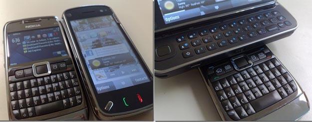 nokiacompare  Nokia E71 vs. Nokia N97 - Shot for Shot Comparison