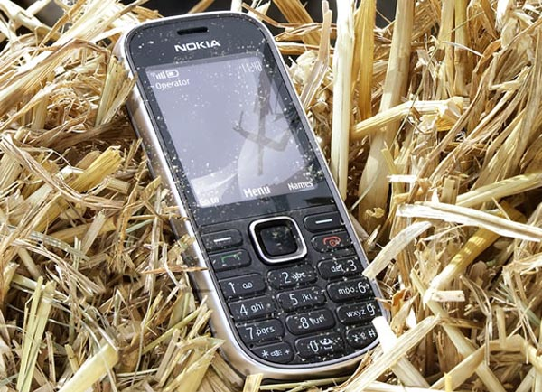 ruggednokia Nokia 3720 Classic Is Certified IP-54 Rugged