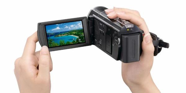 sonyhdcam GPS Geotags with New Sony HD Flash Camcorders