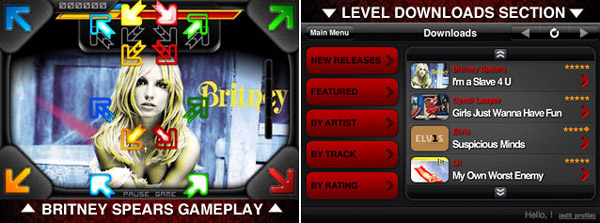 tapstar iPhone TapStar Game Integrates with iTunes Music Store