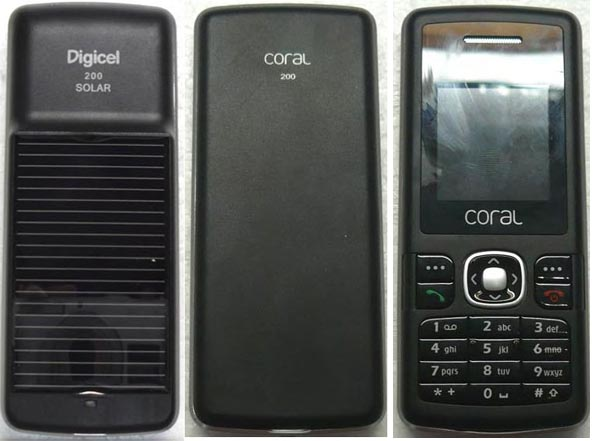 zte First Solar Phone in America Is ZTE Coral 200FM?
