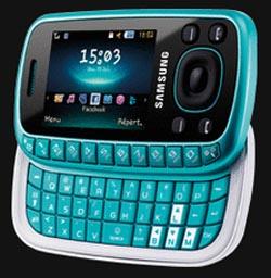 samsungb Going Off-Kilter with Unique Samsung B3310 Slider Phone
