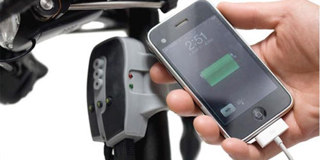 biologic  Charge Your iPod and iPhone with Bicycle Power