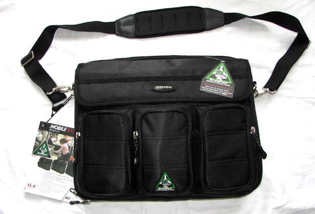 mobileedgem-1 REVIEW - Mobile Edge ScanFast Messenger Laptop Bag
