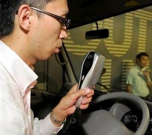 toyota  Toyota Targets Drunk Driving with In-Car Breathalyzers