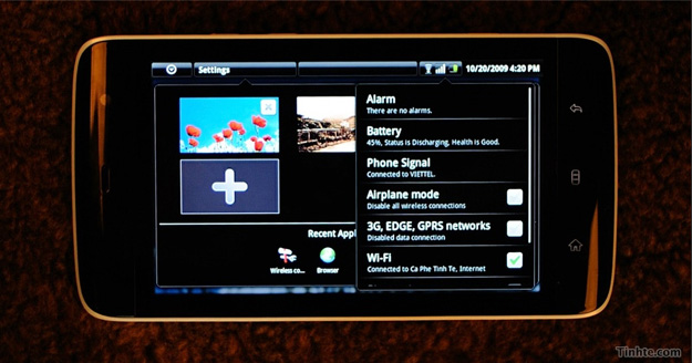 dellstreak Video: First Live Look at Dell Streak Android MID