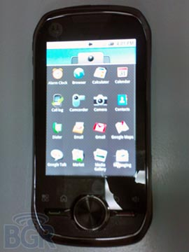 motoopusone  Android Goes iDEN with Motorola Opus One Smartphone