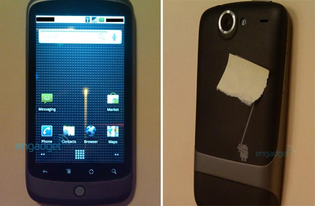 nexusone Nexus One Is First Official Google Phone with Android 2.1