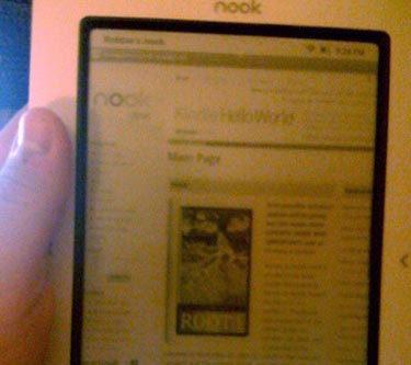 nooktablet  Barnes & Noble Nook Browses Web, Tweets Too