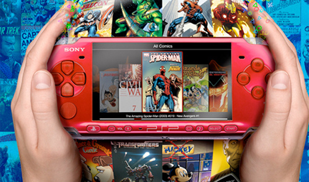 pspmarvel  Marvel Digital Comics Show Up on Sony PSP