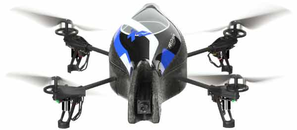 ardrone iPhone controlled quadrocopter is the Parrot AR.Drone