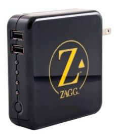 zagg ZAGGsparq portable external battery pack provides juice to go