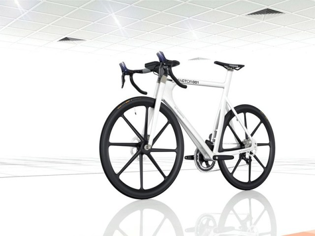 factor001-09 Formula 1 engineers create BERU Factor 001 bicycle