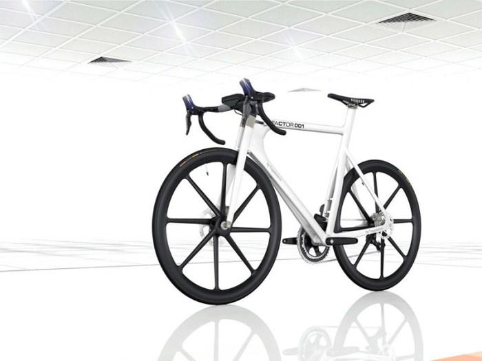 factor001-09 Formula 1 engineers create BERU Factor 001 bicycle
