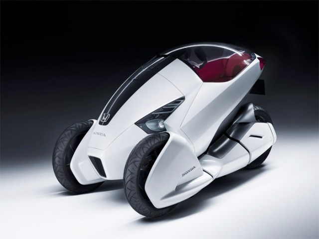 honda-rc3-1 Honda 3R-C concept hybrid trike coming to Geneva