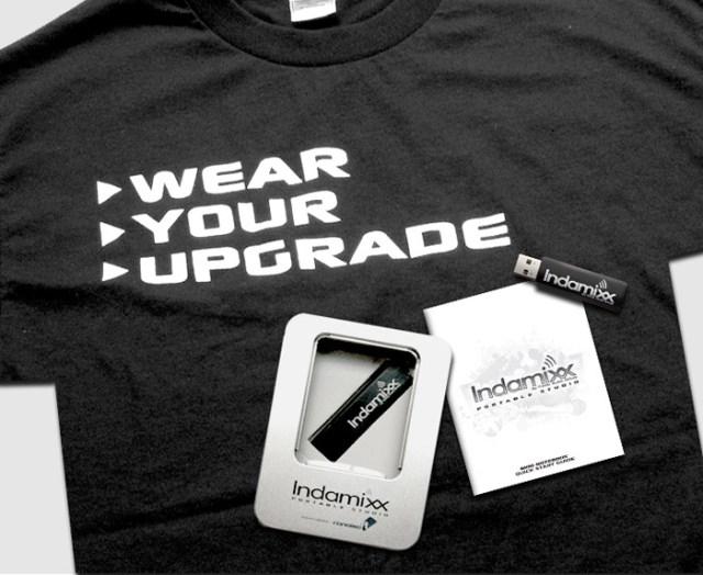 indamixx-shirt Indamixx Portable Studio USB Stick for Netbooks and Laptops released