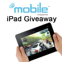 ipad-giveaway.200 Win the iPad: Mobile Magazine contest giveaway