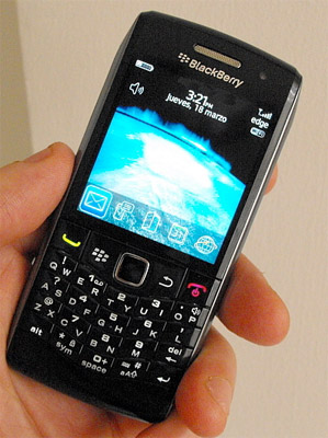 blackberry-9100 Next-generation BlackBerry Pearl 9100 revealed