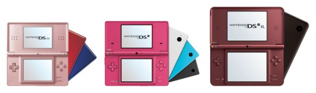 ninteno-ds-family Nintendo DSi XL goes big in North America on March 28