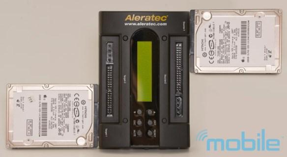 aleratec-2-5 Review: Aleratec 1:1 HDD PortaCruiser hard disk drive duplicator