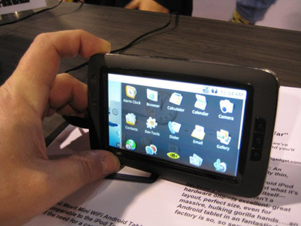 android-tablet-giinii VIA processor-powered Android tablets for $100 later this year