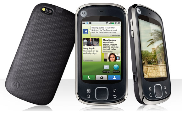 motorola-quench Rogers intros entry-level Motorola Quench Android phone