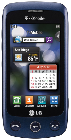 lg-sentio-tmobile T-Mobile bringing out the $70 LG Sentio touchscreen handset