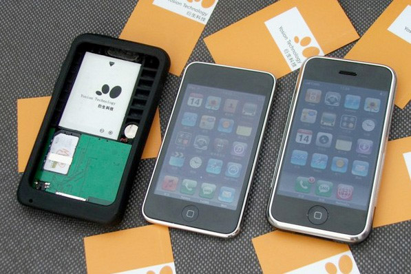 apple-peel-ipod Special case converts iPod touch into fully-fledged iPhone?