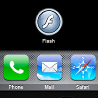 flash-iphone Legal Jailbreaking could bring Flash to the iPhone and iPad
