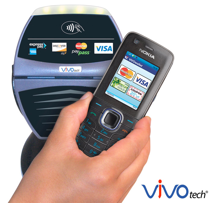 vivo-contactless-payment Transactions 2.0: Using a mobile phone to pay your restaurant bill