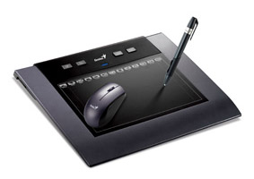 MousPen-M508W Genius offers first wireless graphic tablet: The MousePen M508W