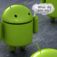 android-guy-canthear Where's the killer Android messenger app?