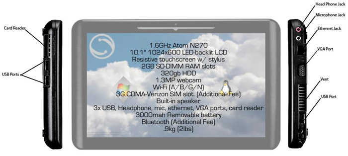 axon-haptic-tablet Axon Haptic tablet comes with no OS, $750 pre-orders now on