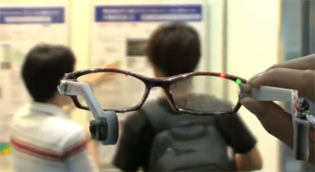 gps-glasses-1 Personal navigation system is a pair of glasses (video)