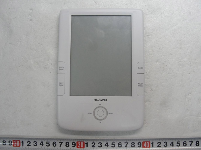 huawei-ereader FCC Spotting: Huawei touchscreen eReader with Wi-Fi and 3G to sport Android?