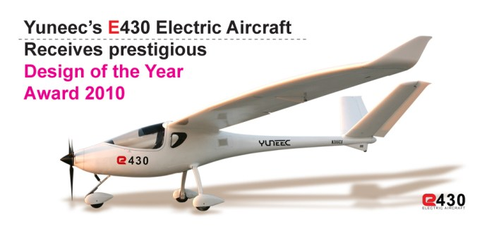 yuneec-electric-airplane2 World's first Electric Aircraft has great potential