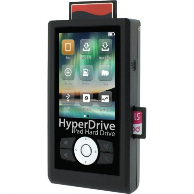HyperDrive-650x650  HyperDrive adds card reader, hard drive to Apple iPad