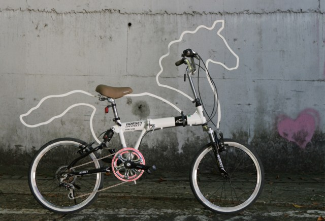 horsey03 Unicorn bicycle mod gives me that 'warm and fuzzy' feeling