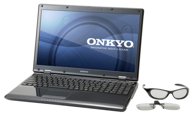 onkyo-r515 Onkyo 3D capable R5 notebook is for Japan