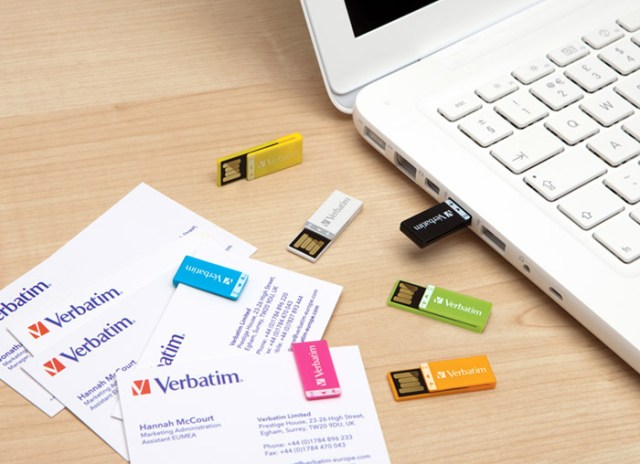 verbatim-clipit-01 Verbatim's Clip-it USB drive keeps flash memory designs fresh