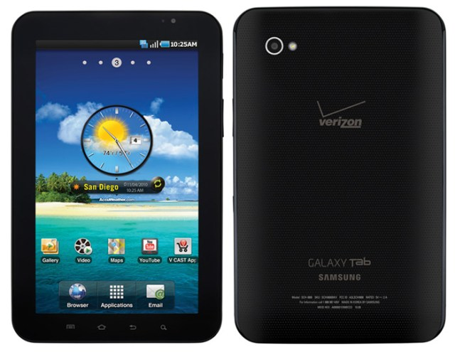 galaxy-tab-vzw-nov11 Samsung Galaxy Tab is $600 this November 11 on Verizon Wireless