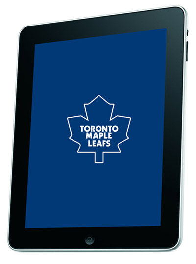 leafs-ipad Toronto Maple Leafs coach uses iPad for coaching