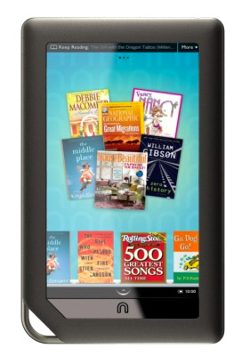 nookcolor NOOK Color: B&N's WiFi tablet with Apps, Mags and Books to cost $250