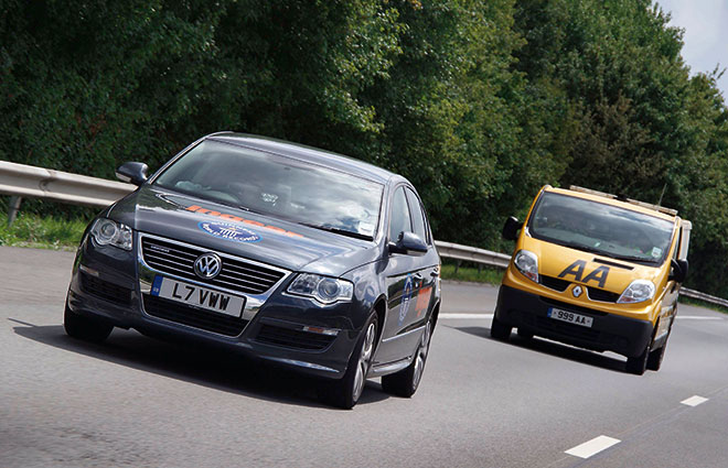 passat-bluemotion-guiness-record VW goes over 1500 miles on a single tank of gas